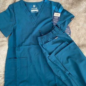 NWT! ADAR scrubs set